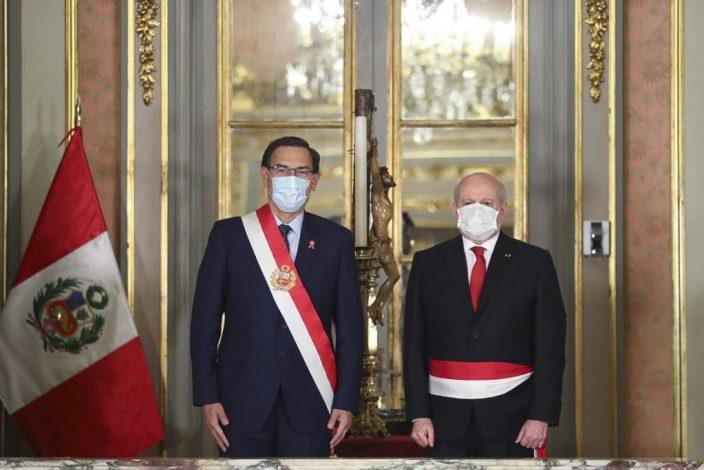 Martín Vizcarra renews his cabinet amid the coronavirus (COVID-19) crisis