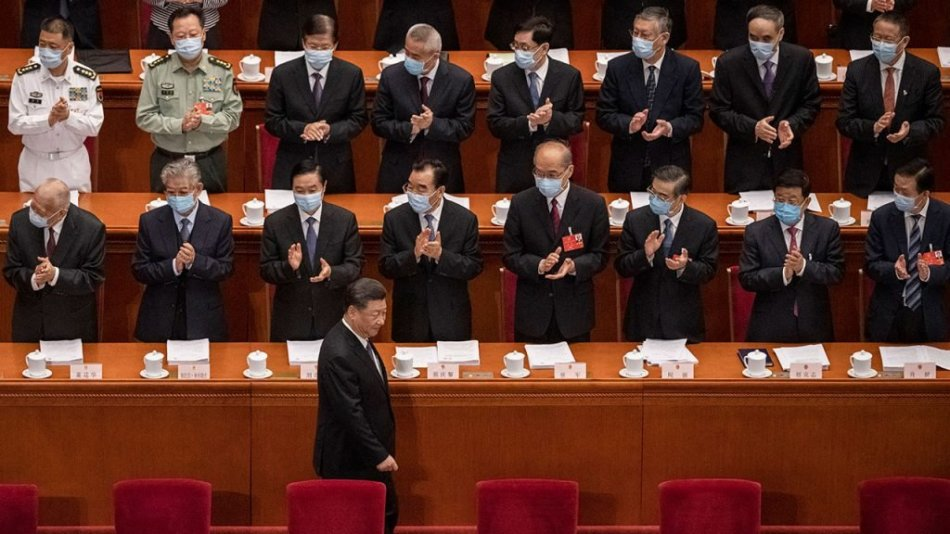 Xi Jinping China Holds Annual Two Sessions Meetings Amidst Global Coronavirus Pandemic