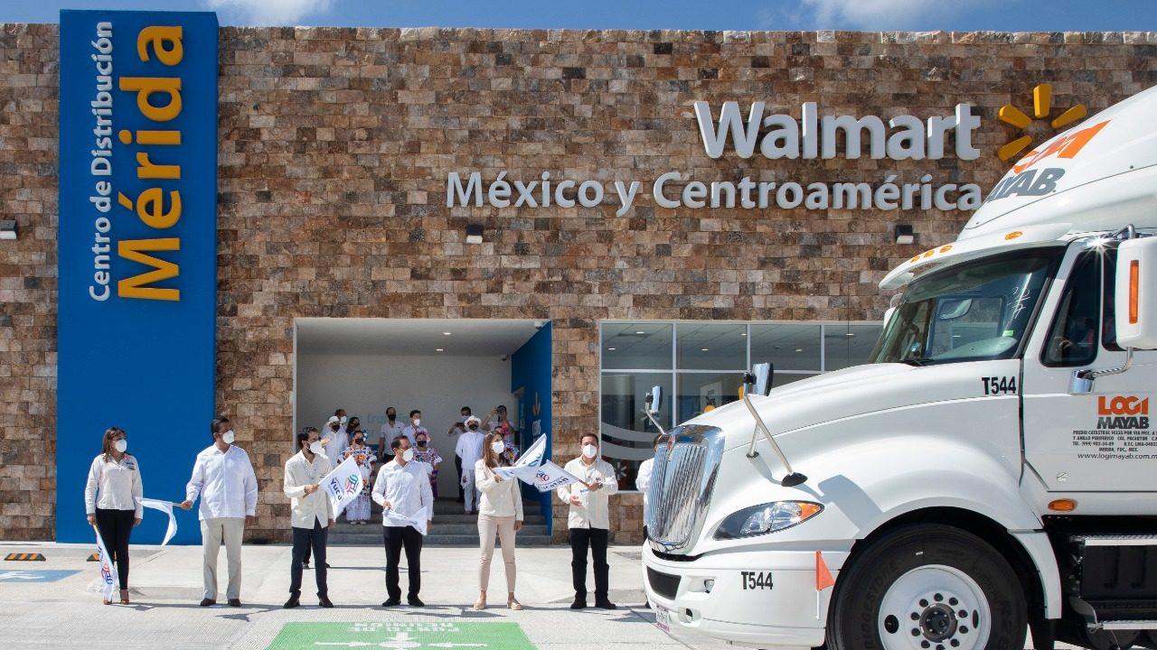 Walmart abre en Yucatán el primer centro de distribución omnicanal del país