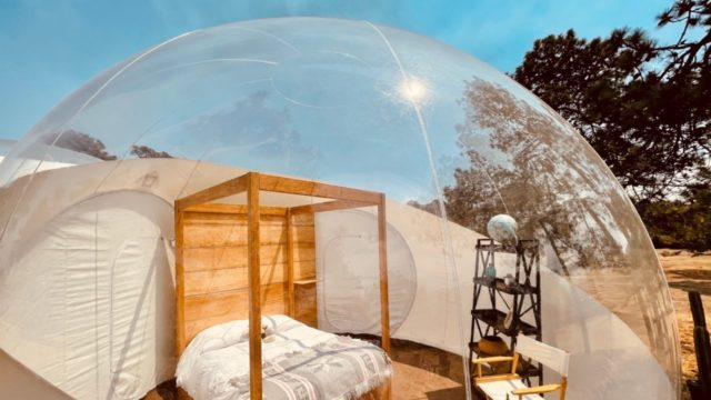Hotel burbuja glamping