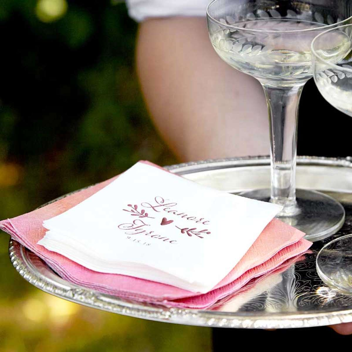 Custom Napkins  Personalized Wedding Napkins  For Your Party