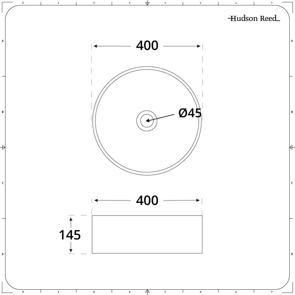 Vasque à poser ronde Ø 40cm Covelly & Mitigeur Haut Mirage