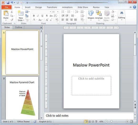 change orientation in powerpoint