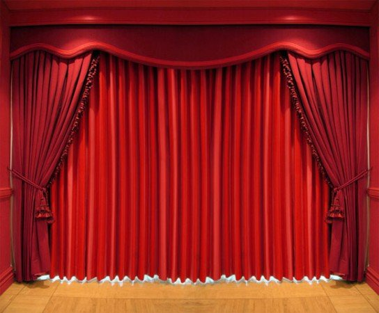 Tan Taran Use Curtains To Generate Expectations Theater Opening Non Looping Powerpoint Animation