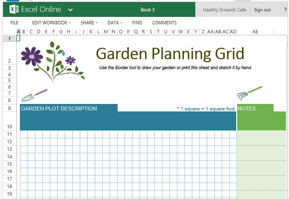 Plan and track your upcoming a/b tests. Free Garden Planner Template For Excel Online