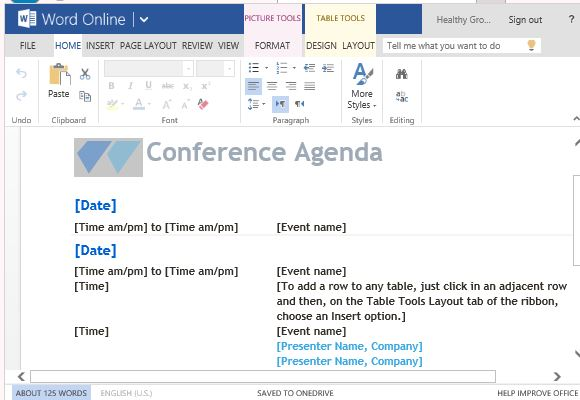 It outlines the topics of discussion and activities that will occur at the meeting. Free Agenda Templates For Word