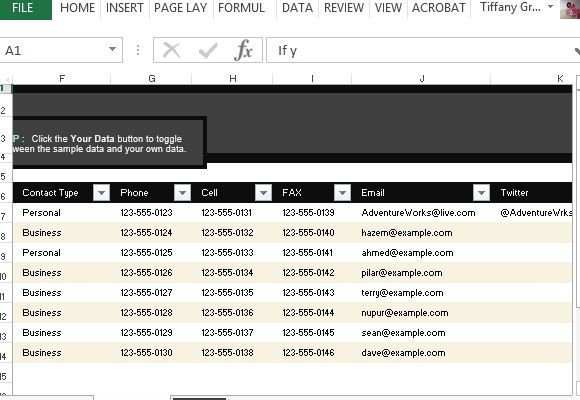 In the field of business, this list serves as the best tool to manage and organize the. Customer Contact List Template For Excel