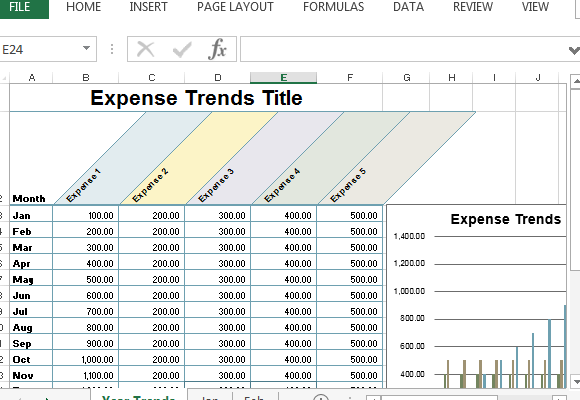 This tracking template is functional both for personal or business matter. Small Business Expense Sheet For Excel