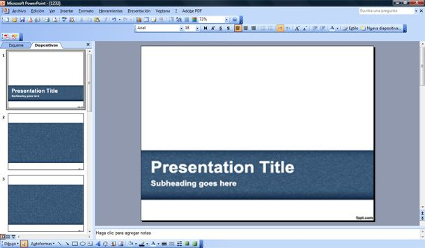Interactive PowerPoint Templates