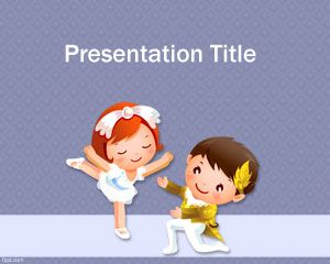 Dancing PowerPoint Template