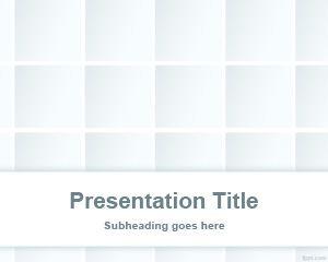 Free Kaleidoscope Triangle PowerPoint Template