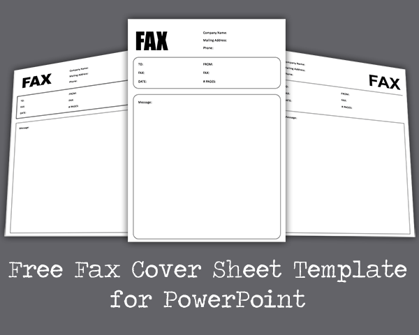 This printable was uploaded at march 09, 2021 by tamble in fax cover sheet. Free Fax Cover Sheet Template For Powerpoint