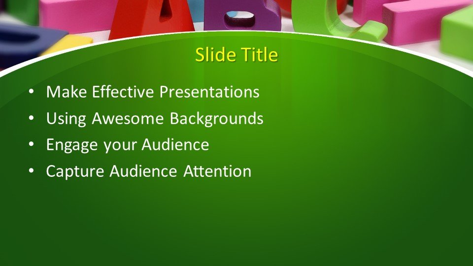 Free Learning PowerPoint Template  Free PowerPoint Templates