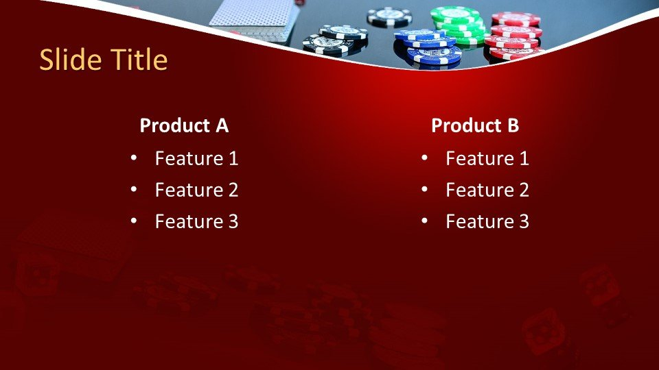 Free Card Game PowerPoint Template  Free PowerPoint Templates