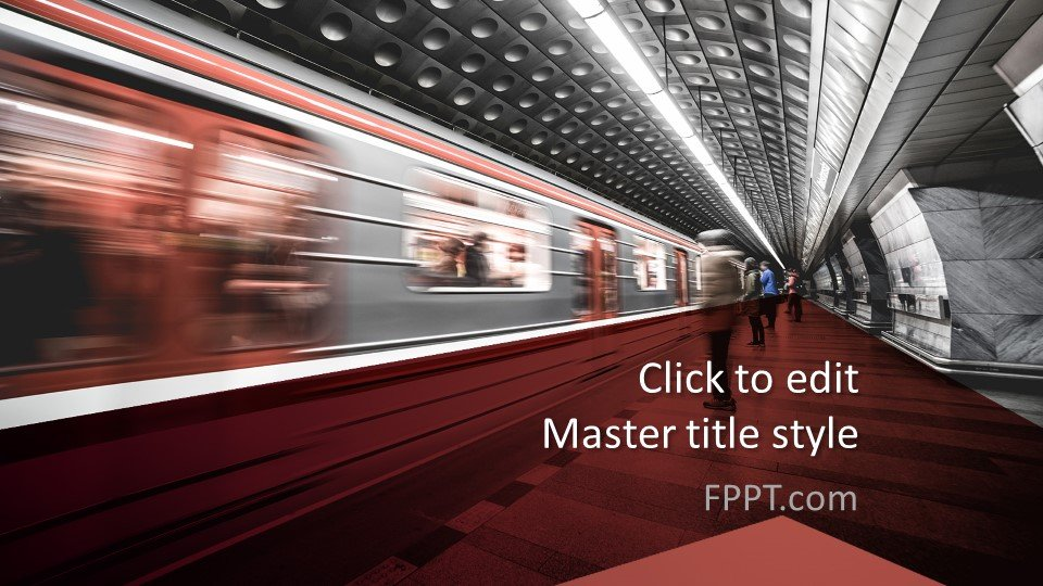Free Subway PowerPoint Template Free PowerPoint Templates
