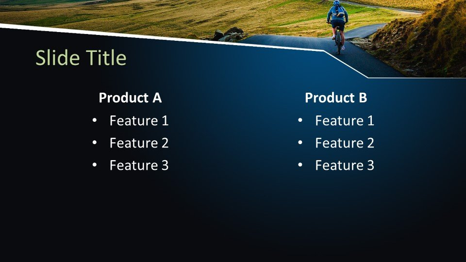 Free Outdoor Cycling Powerpoint Template Free Powerpoint