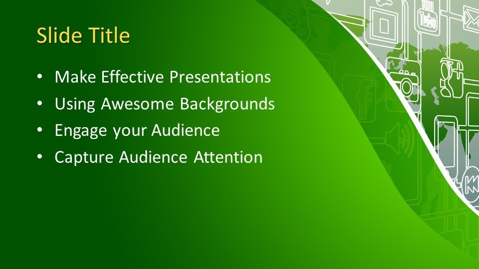 Free Globalization PowerPoint Template Free PowerPoint Templates