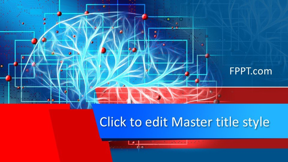 Free Brain Intelligence Powerpoint Template Free