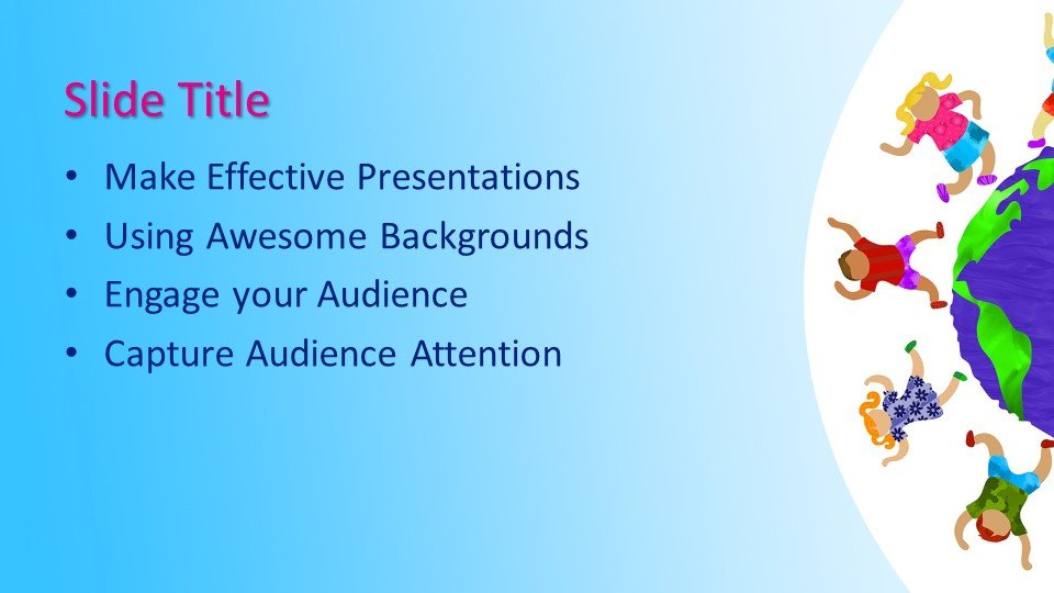 Free Kids Education PowerPoint Template - Free PowerPoint Templates