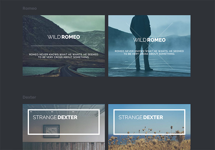 New subtle hover effects with CSS3  Freebiesbug