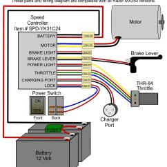 Schwinn Electric Scooter Battery Wiring Diagram Rv Tv Antenna Booster For Razor Mx350 4 23 Tefolia De Version 8 Control Modification Electricscooterparts E175