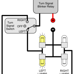Wiring Diagram Turn Signal Relay Telecaster Neck Humbucker Installing Signals Electricscooterparts Com Support Here Is A Schematic For Two Sets Of