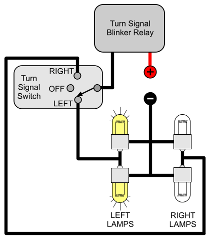 moped turn signal wiring diagram  marathon motor single
