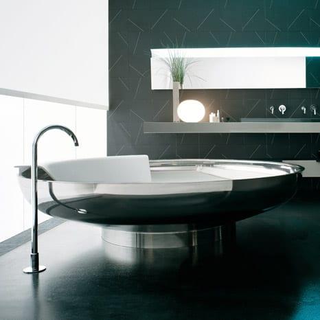 edelstahl freistehende Badewanne  fresHouse