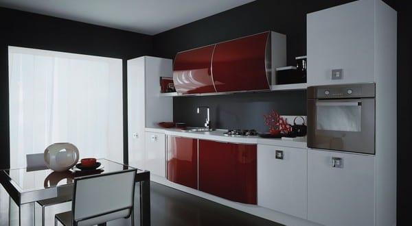 kleine Kche in schwarz und rot 1  fresHouse