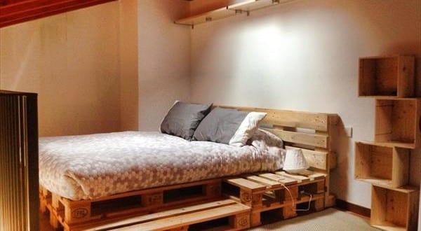 zweistufiges Palettenbett  fresHouse