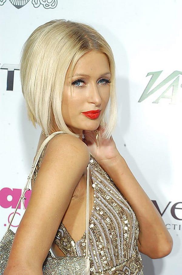 Bob Frisur Paris Hilton FresHouse