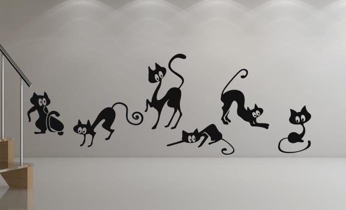 Wandtattoo  Katzen  fresHouse