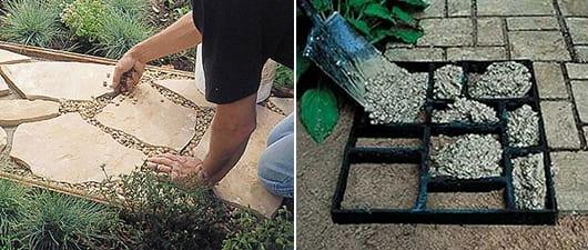 DIY Gartenweg Ideen  fresHouse