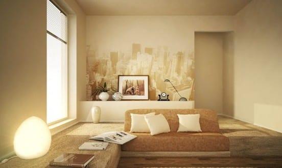 beige wandfarbe fr stylisches wohnzimmer  fresHouse