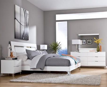 schlafzimmer grauraumgestaltung  fresHouse