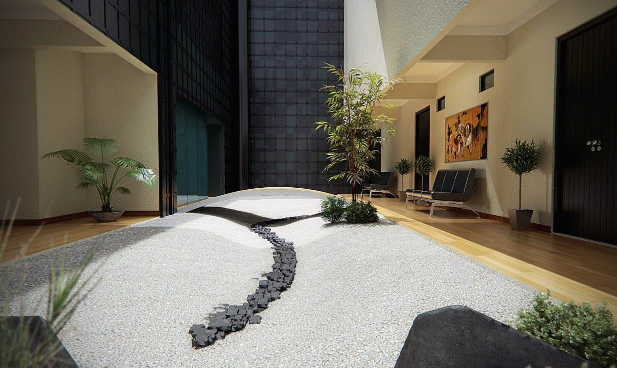 zen garten designtraumgarten im wohnraum  fresHouse
