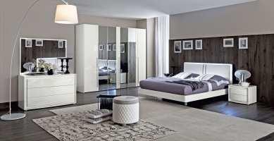 luxus schlafzimmer set möbelstück weiß für modernes ...