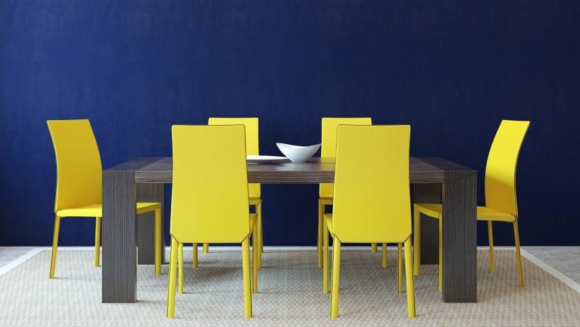 wand streichen musterfarbpalette wandfarbe blau  fresHouse