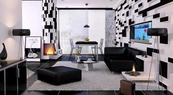 21 fantastische Gestaltungsideen fr schwarzweie
