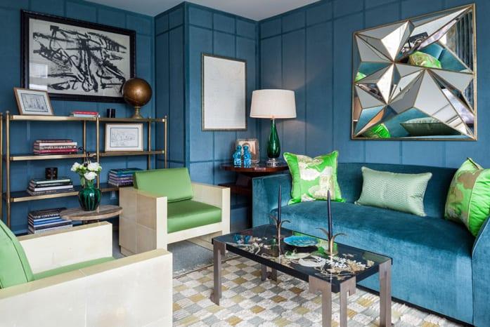 wohnzimmer wandfarbe blauwohnzimmer inspirationen in blau und grn  fresHouse