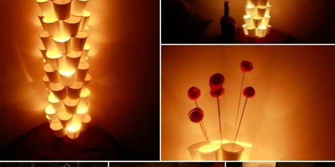 DIY tischlampe aus papier  fresHouse
