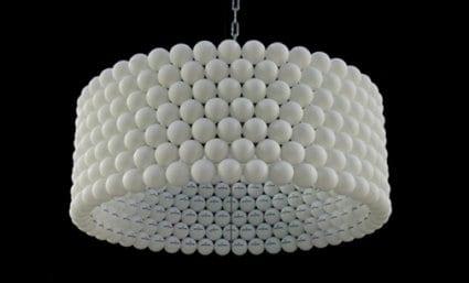 lampe selber bauen aus ping pong bllen  fresHouse