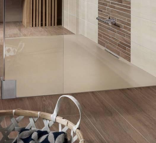 moderne badezimmer einrichten mit Dusche bodengleich in