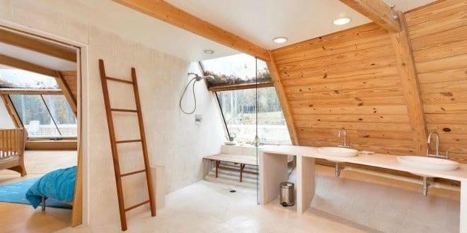 Moderne Badezimmer Holz Inspirationen  Freshouse
