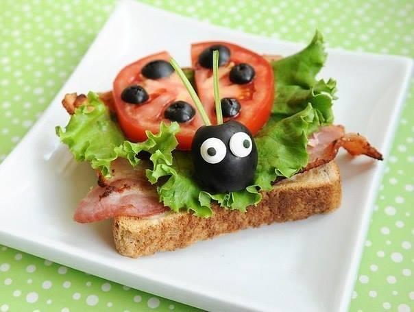 interessante KinderGeburtstagsessen und PartyEssenIdee mit sandwichen  fresHouse