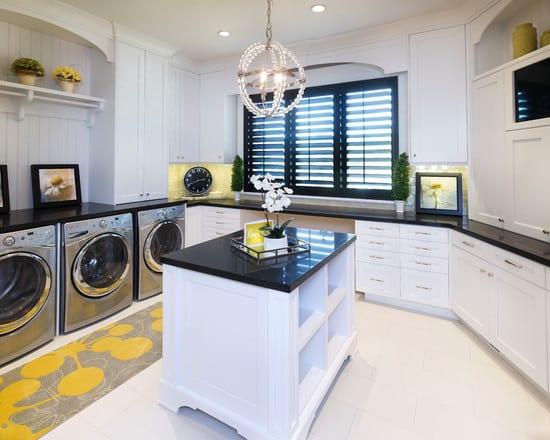 moderne waschkche in schwarzwei gestalten  fresHouse