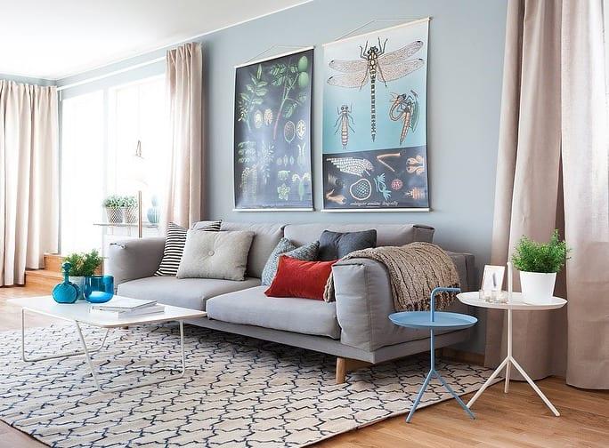 wandfarbe hellblau schlafzimmer  30 inspirierende
