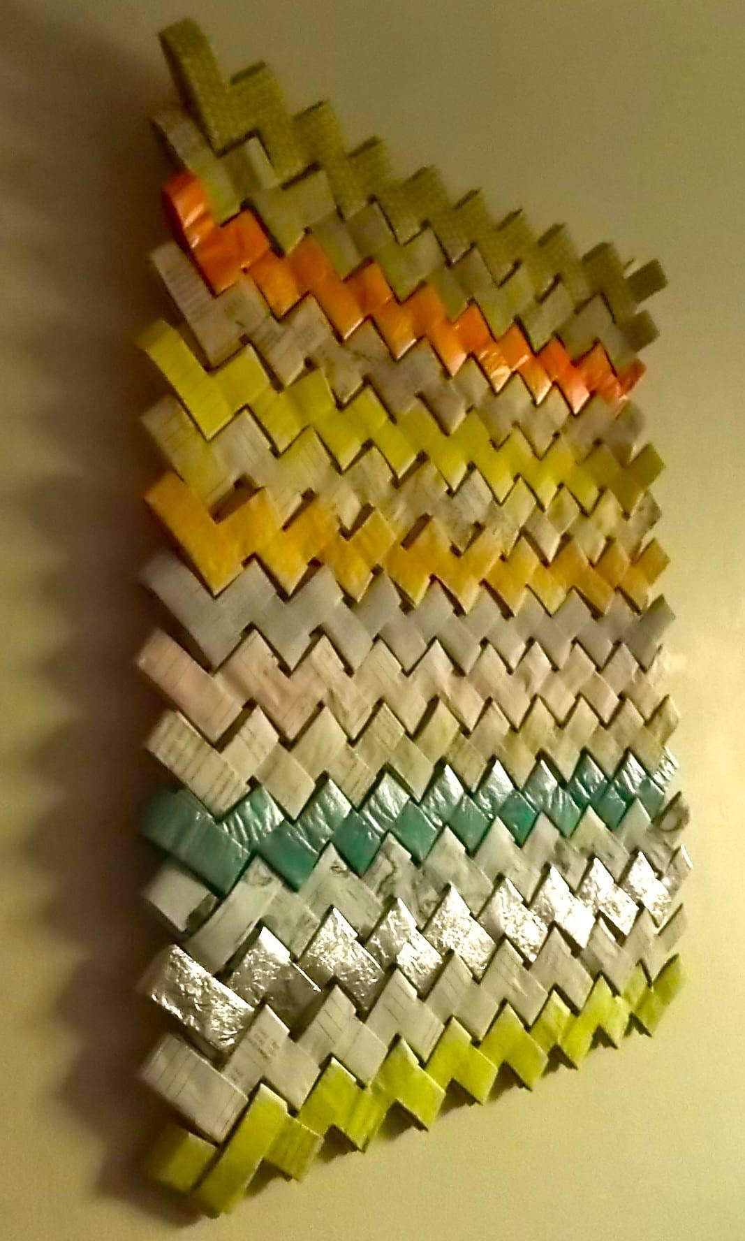 basteln papier als wanddekoration und kreative wandgestaltung  fresHouse