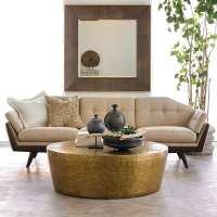 wohnzimmer design beispiele mit designer sofa beige und ...