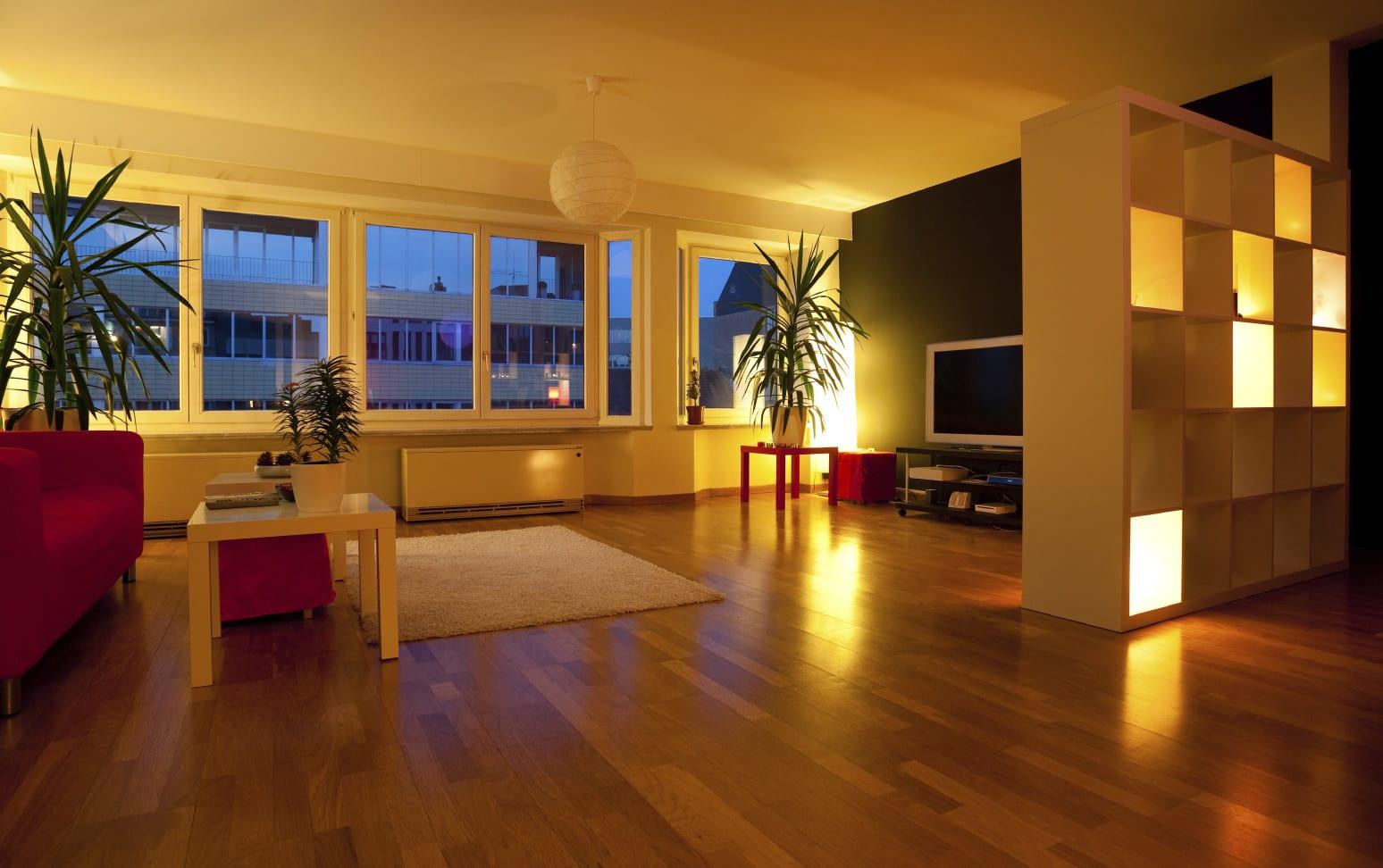 kreative beleuchtungsideen für wohnzimmerindirekte